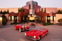 Blackhawk Automobile Museum, Blackhawk  California. The building and collection are affiliated with the Smithsonian.