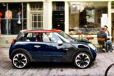 This needs to be put into production. mini-rocketman-concept. Bloody 4by4's