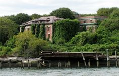 Spooky spooky spooky spots in New York burroughs here - The remains of Riverside Hospital at North Brother Island