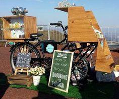 """food bike da """"quem quer pipoca?"""""""