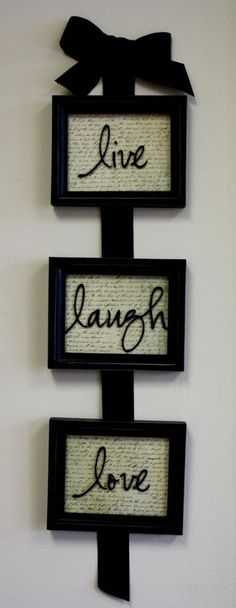 Vinyl frame idea - want to make this for a friend!