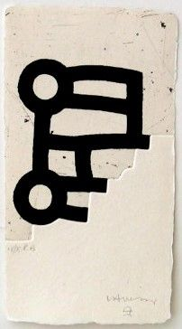 Eduardo Chillida Lotura, Etching with aquatint and embossing, printed on Segundo Santos paper. Size of etching: H x W. Edition of 66 copies. Abstract Words, Abstract Art, Ai Weiwei, Creation Art, Contemporary Art, Modern Art, Art Sculpture, Print Artist, Art Plastique