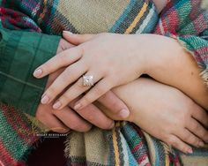 Lifestyle Engagement session at Star Hill Ranch in Austin, TX Ring by Heidi Gibson Design