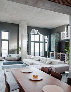 Spacious Modern Dining Room Design