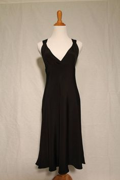 J.Crew Crisscross Back Black Deco 1920's inspired Silk Cocktail Dress 4 NEW #JCrew #Sheath #Cocktail
