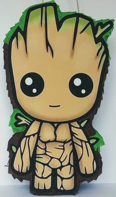 Groot Pinata Guardians of the Galaxy Party Supplies Cute Disney Wallpaper, Cute Cartoon Wallpapers, Avengers Drawings, Costume Birthday Parties, Cute Disney Drawings, Dibujos Cute, Cartoon Sketches, Baby Groot, Diy Canvas Art