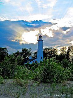 Sturgeon Point Lighthouse. Harrisville, MI. Lake Huron by Pure Michigan, via Flickr