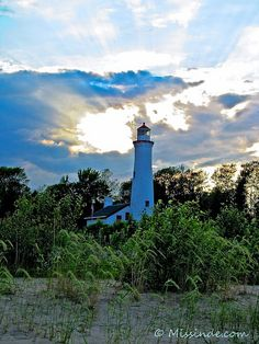 Sturgeon Point Lighthouse. Harrisville, MI. On Lake Huron by Pure Michigan, via Flickr