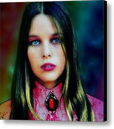 Michelle Phillips Canvas Print / Canvas Art By Che Rellom