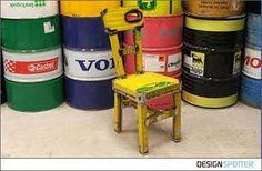 Eco Design Dora Chair by Vibrazioni Art Design