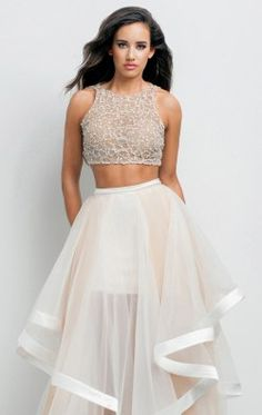 Two Piece Gown by Terani Couture Prom 151P0102