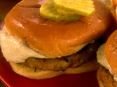 Tuna Burger recipe from Paula Deen via Food Network