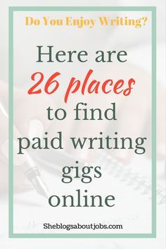 get paid to write sites that pay you per blog post  here are a few websites you can use to get paid to write if you