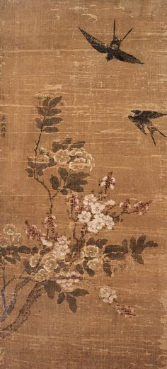 Qian Xuan: Return of Swallows (燕歸來)