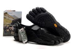 Five Finger Vibram Toe Boots | Vibram Five Fingers Kso Trek Men's Shoes All Black