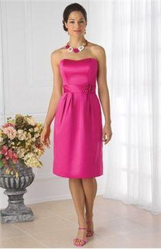 Sweetheart Sleeveless Knee-length Ruffles Bridesmaid #Dress $79