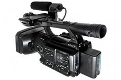 SONY PMW-100 - The PMW100 packs a lot into a small package: 422, 50Mb/s MPEG-2 recording at 1920x1080, a built-in 10x zoom lens, HDMI & HDSDI outputs, and more.