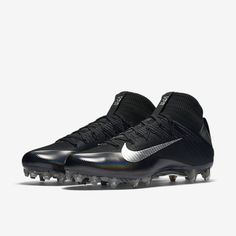 Nike Vapor Untouchable 2 Football Cleats Elite Carbon Flyweave Size 13 Black NEW (eBay Link) Mens Football Cleats, Football Gear, Nike Vapor, Nike Shoes, Black Silver, Sports Shoes, Confidence, Size 12, Nike Tennis, Football Equipment, Self Confidence, Nike Shoe, Nike Free Shoes