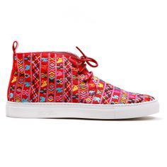 Men's Red Tribal Alto Chukka Sneaker - Sneaker - Men's