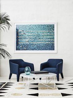 Aquabumps print + Jardan Chairs