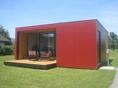 Mikrohaus, Österreich – Modulhaus ab 28 qm Wohnfläche, mit Dachterrasse. Zu kaufen ab ca. € 36.500 inkl. Bad