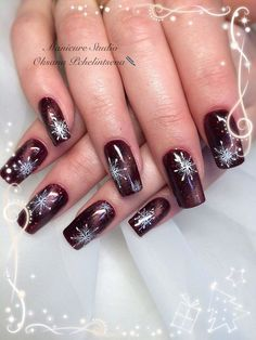 (notitle) Related posts:The Cutest and Festive Christmas Nail Designs for Celebration fantastic christmas nail art designs to spice up holiday season 2 Xmas Nails, New Year's Nails, Holiday Nails, Halloween Nails, Red Nails, Christmas Nails, Hair And Nails, Christmas Nail Art Designs, Pedicure Designs