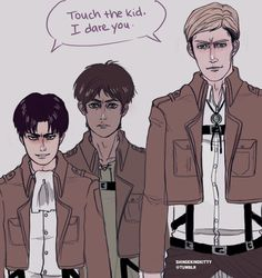 Not on our watch!! Levi & Erwin SNK