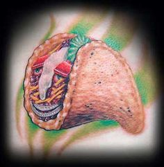 From those new to tattoo's, to the most experienced of tattoo fans; you will be amazed by what we have to show you. Taco Tattoos, Grow Up Already, I Tattoo, Piercings, Tacos, Ink, Spicy, Tattoo Ideas, Tatuajes
