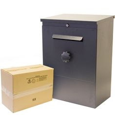 Secure Home Parcel Package Delivery Mail Letter Post Drop Box BrizeBox