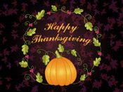 Thanksgiving occurs this year on November 24th. It's a perfect time to send season greetings before the winter holiday rush. You can set up Thanksgiving eCards to be sent now or anytime next week. If you're having a Thanksgiving get-together, this new eCard is also offered as an invitation.