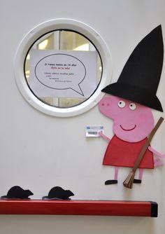 Semana del Terror en la Sala Infantil-Juvenil de la Biblioteca Central de Móstoles. Octubre 2013