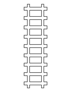 photo regarding Printable Train Track Templates known as 1190 Least complicated Templates and Printables photographs within just 2019
