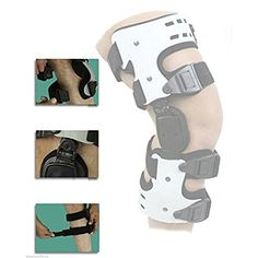 198858fb4b Amazon.com: Orthomen OA Knee Brace for Osteoarthritis Lateral Off Loader  Support - Size