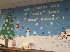 Cute mural in our children's department!