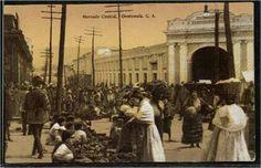 Mercado Central Foto tomada en la ahora esquina de la 8ª ave y 6ª calle.