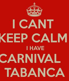 Check It Deeply: What is Carnival Tabanca?