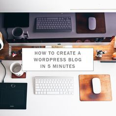 Permalink to: Create A Wordpress Blog in 5 Minutes