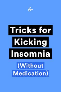 Getting my sleep back was, frankly, a magical experience. #greatist http://greatist.com/live/how-i-kicked-insomnia