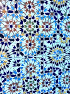 Moroccan Tile splash back .
