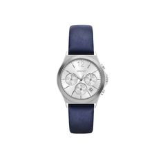 7bdc7ff4bcae DKNY Dkny Armbanduhr – Parsons Leather and Stainless-Steel Chrono Watch  Navy – in blau