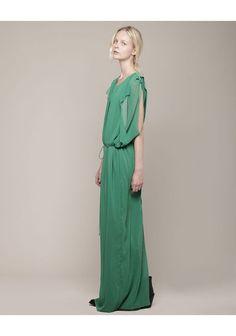 Acne Marnay Long Cutout Dress