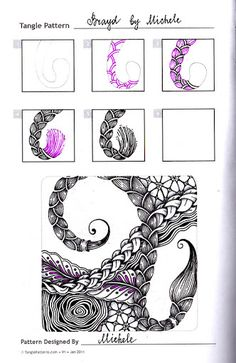 Zentangle, zendala & Doodling. - Виктория Власова - Веб-альбомы Picasa