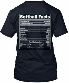 """Discover Limited Edition Basketball Facts T-Shirt, a custom product made just for you by Teespring. - This LIMITED EDITION """"Basketball Facts"""" t-shirt. Softball Workouts, Softball Memes, Softball Drills, Softball Crafts, Softball Players, Girls Softball, Fastpitch Softball, Softball Stuff, Softball Cheers"""