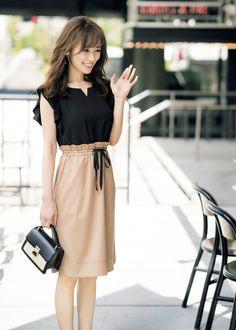Pin by planck.c on fassion in 2019 Tall Girl Fashion, Cute Asian Fashion, Office Fashion Women, Korean Fashion, Womens Fashion, Japanese Outfits, Japanese Fashion, Japanese Office Lady, Stylish Summer Outfits