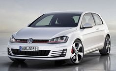 2013 Volkswagen Golf GTI concept - i'm in a love/hate relationship with the 'wolverine' fog lamps..