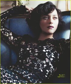 One of my favorite fashion/portrait stories in recent memory...Marion Cotillard
