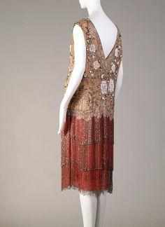 Dress worn by actress Barbara La Marr in 1925. Kent State University Museum.