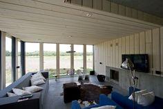 Living room: La Casa Chimenea - Onix Architects #decor