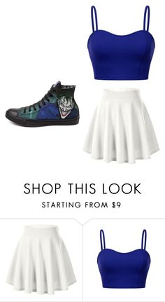 """""""Untitled #717"""" by karinacabrera ❤ liked on Polyvore featuring Converse"""