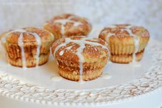 Protein Treats By Nicolette : Cinnamon Roll Protein Muffins